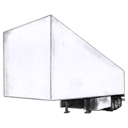 Hanging Garment Trailer