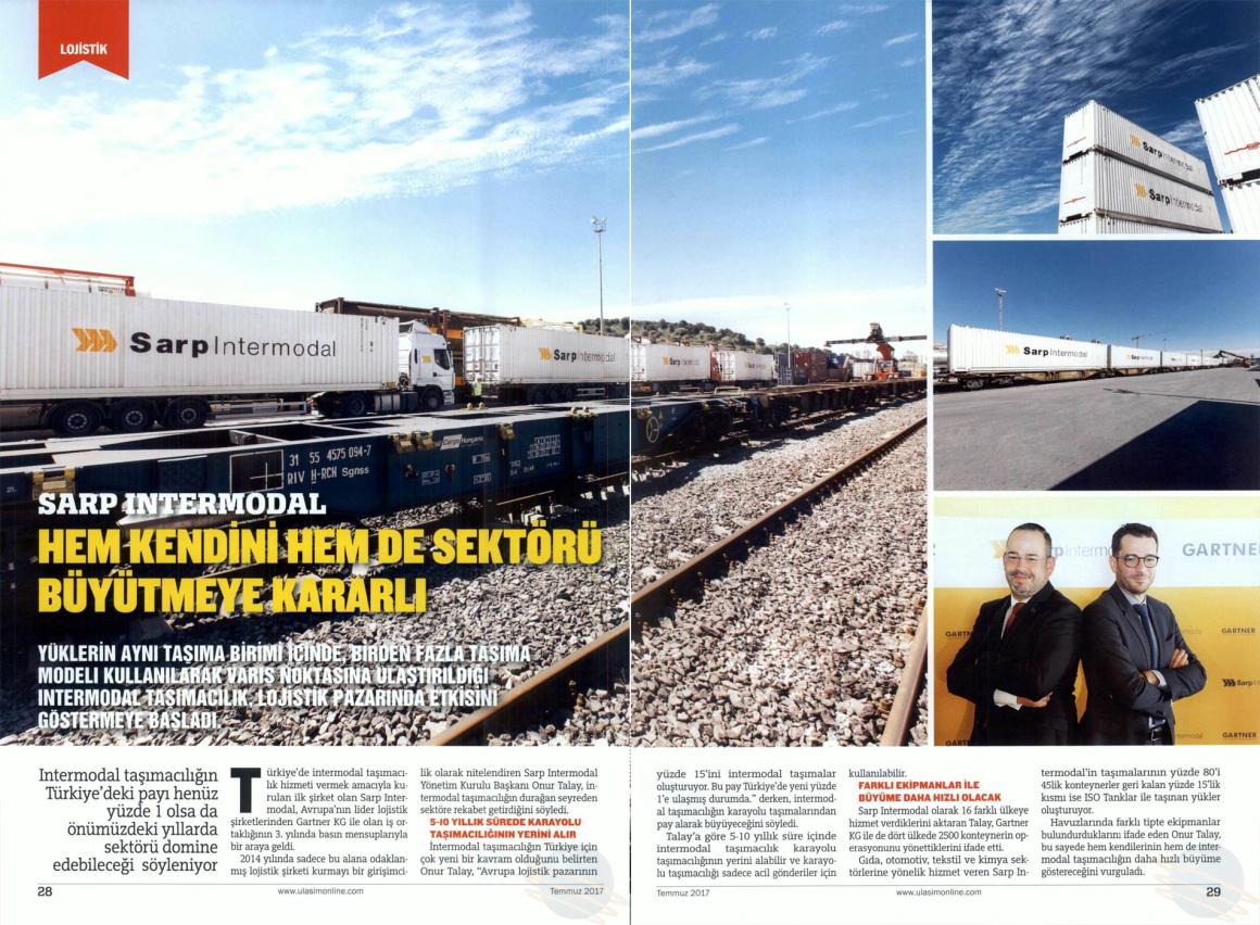 Intermodal Taşımacılık, Sektörü Domine Edecek! // Ulaşım Online Dergisi