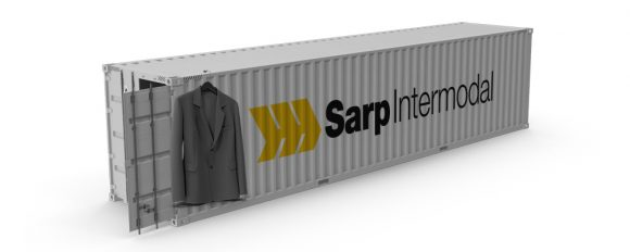 45' CONTAINER WITH HANGERS